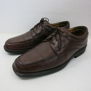 Johnston & Murphy Oil Tanned Leather Oxfords 11 M